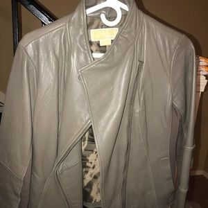 Genuine leather Michael Kors jacket